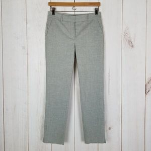 WHBM | Gray Career The Slim Ankle Pant Size 2